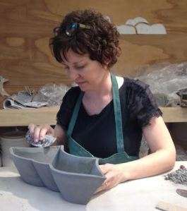 Jen Mills at work