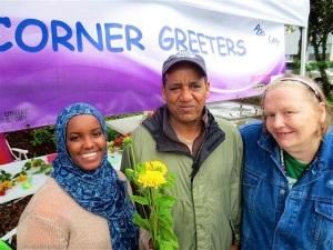 Corner Greeters