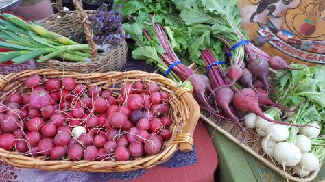 Produce from ROAR's food stand at the Hillman City Collaboratory. Photo Credit: Emily Williamson