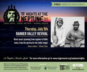 Ben Hunter and Joe Seamons: Rainier Valley Revival at Neptune Theatre