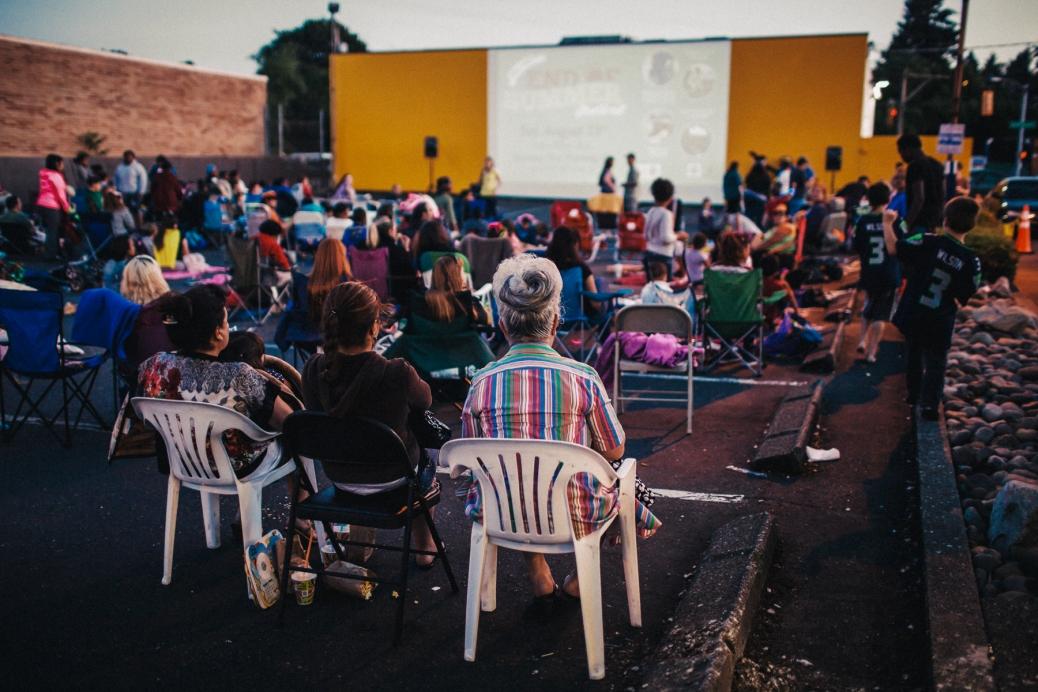 Skyway Outdoor Cinema (Photo: Jordan Nicholson)