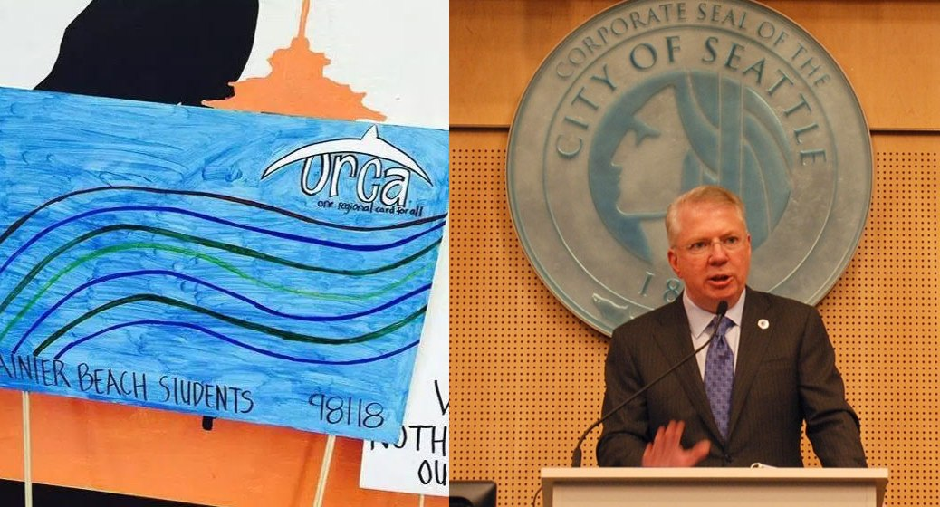 """South Seattle Emerald News Gleams: Free ORCA Cards for Students, Mayor's """"Telephone Town Hall"""""""
