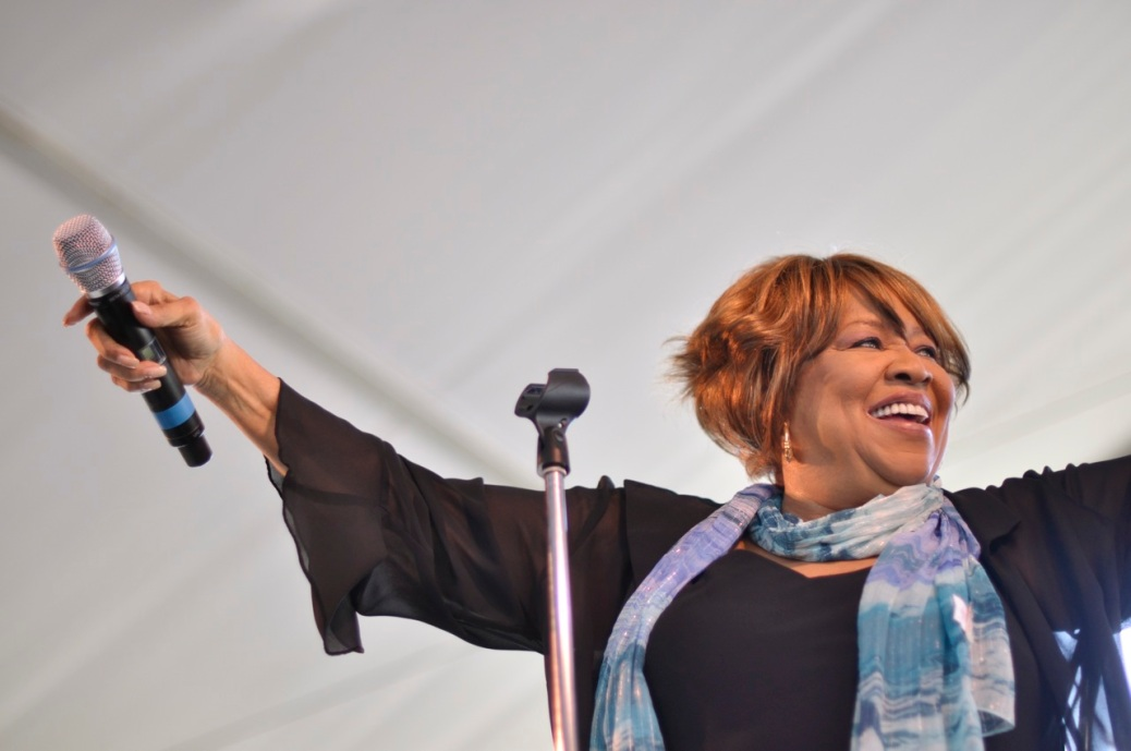 """Mavis Staples by Flickr user """"digboston"""", licensed by CC BY 2.0"""