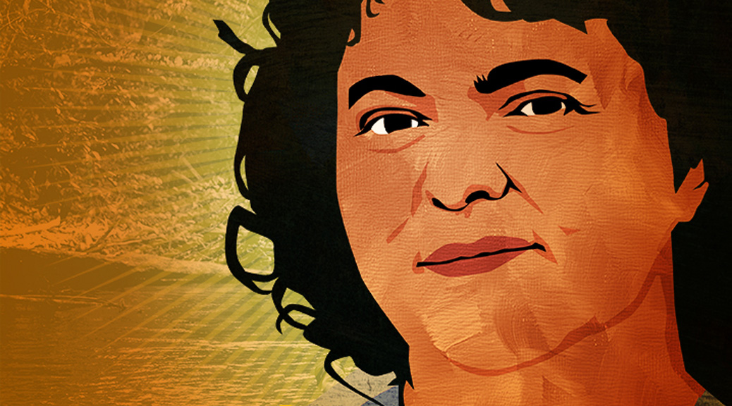 Berta Cáceres by Design Action Collective: http://designaction.org/