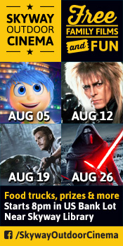 Skyway Outdoor Cinema Lineup: Inside Out, Labyrinth, Jurassic World, Star Wars: The Force Awakens
