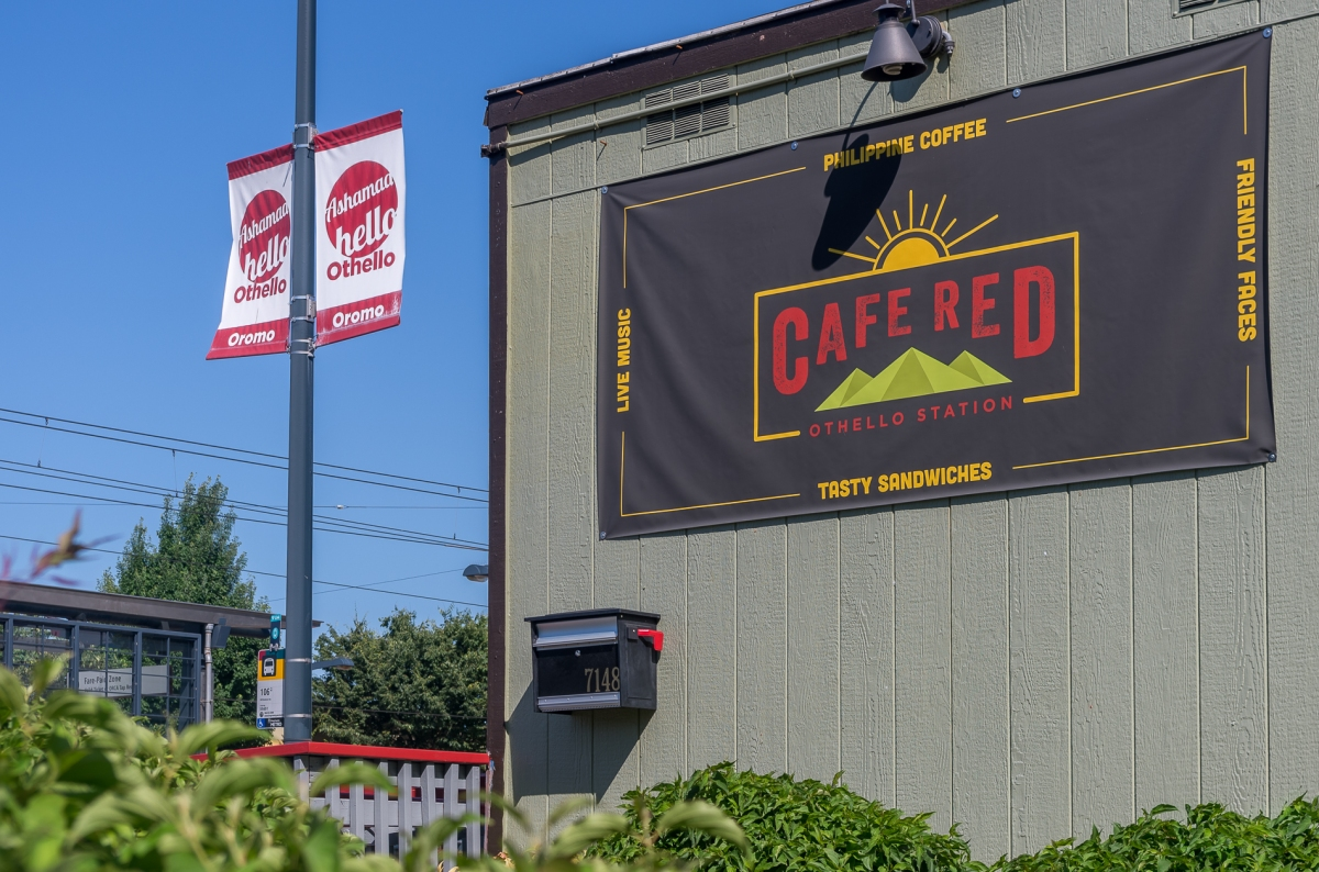 Othello's Cafe Red, Hub for Coffee and Community Interchange