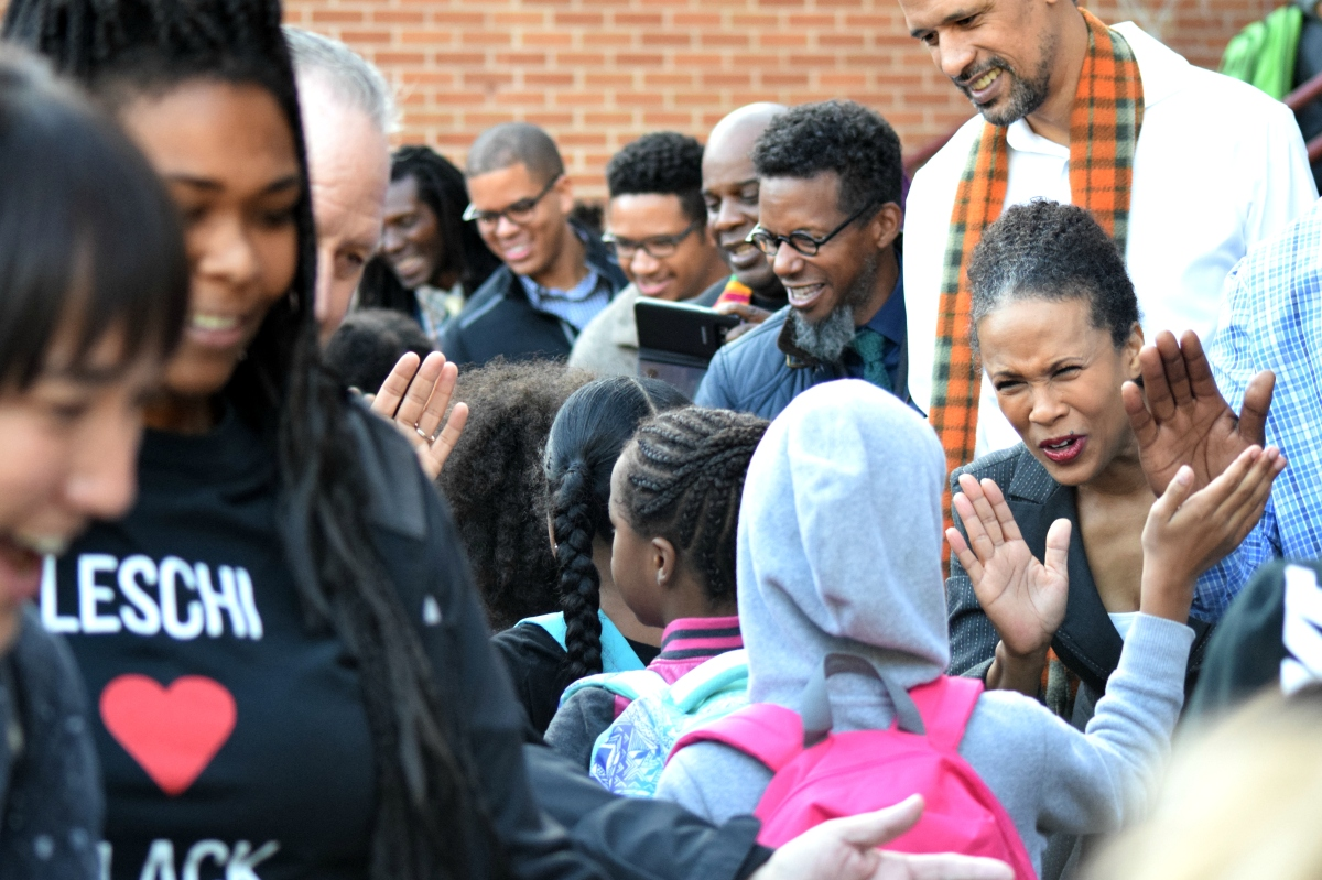 POC Professionals Greet Students With High 5s, Positivity at Annual Event