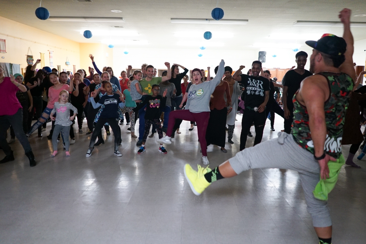 World Dance Party Celebrates Generational, Ethnic Diversity