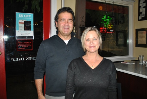 Vince Mottola and his wife Carla