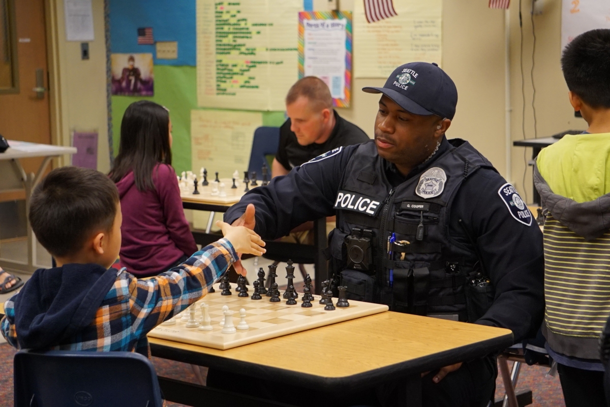 "Kids v Cops: A Seattle Chess ""Rumble"""