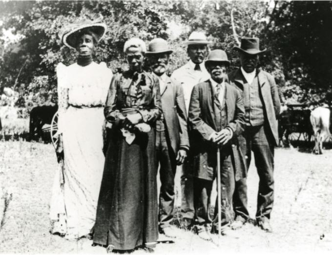 Juneteenth Committee, East Woods Park, Austin, Texas, June 19, 1900. —Smithsonian