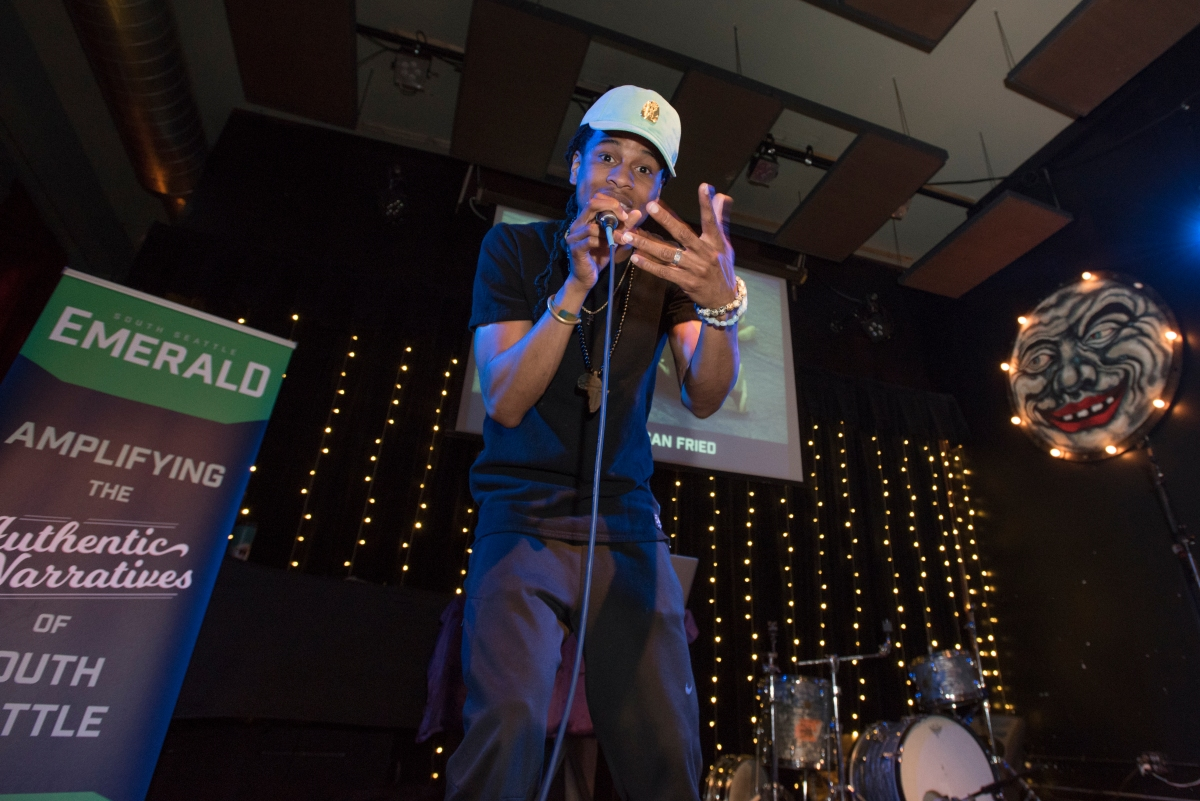 Rapper Rell Be Free's Tools for Seattle's Revolution: Classroom, Stage, Streets
