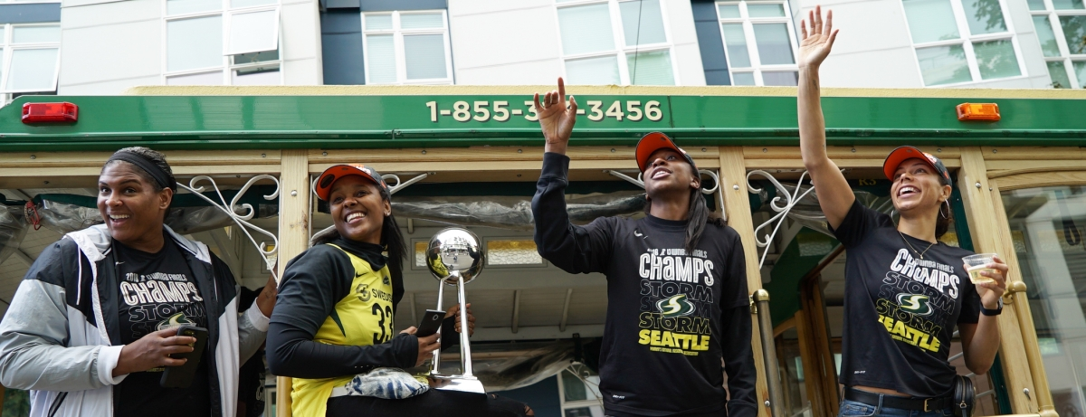 Photos: Storm Fans Celebrate Third WNBA Title